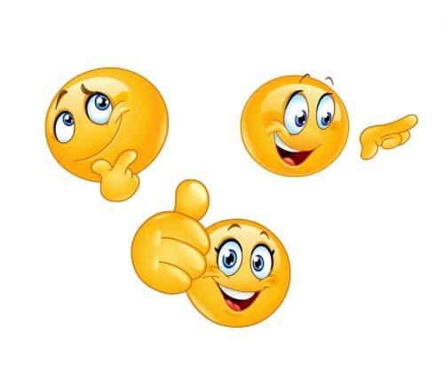3 minki reprezentujące szczęście