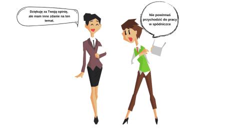 dwie kobiety - jedna doradza drugiej. Jak dawać rady